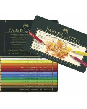 Faber-Castell Polychromos 12 Colour Pencils