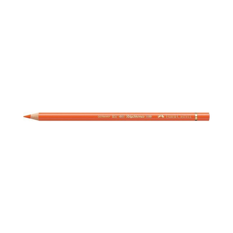 Kleurpotlood Faber-Castell Polychromos 113 oranje gloed