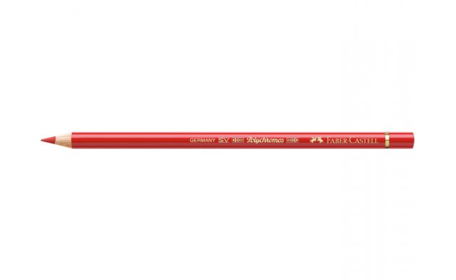 Kleurpotlood Faber-Castell Polychromos 118 scarlet rood