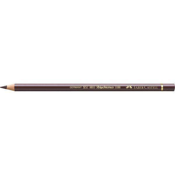 Kleurpotlood Faber-Castell Polychromos 177 walnoot bruin