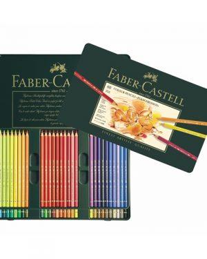 Faber-Castell Polychromos 60 Colour Pencils