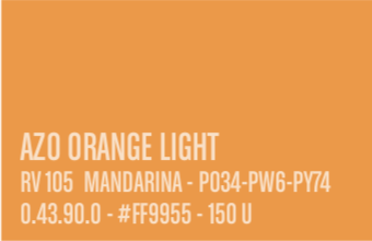 Spuitbus MTN Water based Azo Orange Light