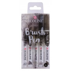 Ecoline Brushpen Set Grey