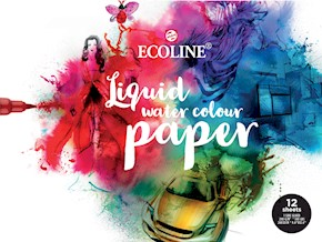 Ecoline Watercolour Paper 12 Sheets