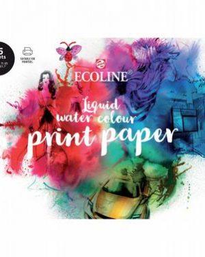 Ecoline Watercolour Printpapier