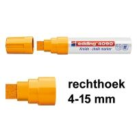 Edding krijtmarker 4090 Neon Oranje