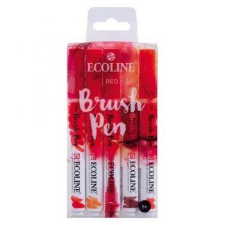 Ecoline Brushpen Set Red