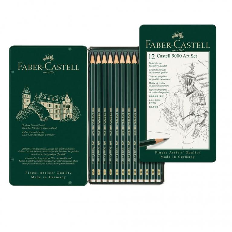 12 Castell 9000 Art Set