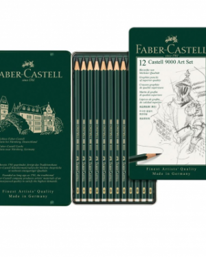 12 Castell 9000 Art Set