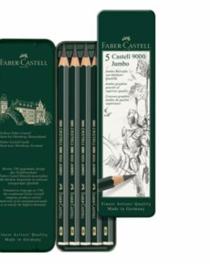 5 Castell 9000 Jumbo