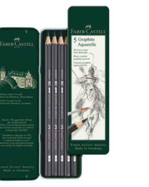 5 Graphite Aquarel Set