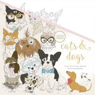 Kaisercraft Kleurboek Cats & Dogs