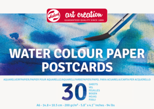 Aquarelpapier Postcards