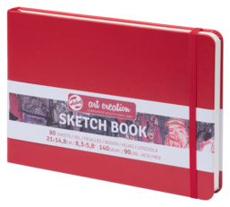 Schetsboek Art Creation 21×14,8 Rood