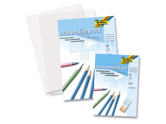 Transparantpapier A4