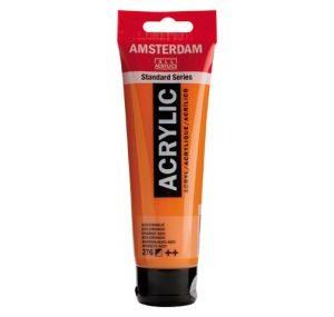Amsterdam Acrylverf 276 Azo-Oranje 120ml