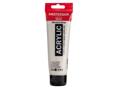Amsterdam Acryl 290 Titaanbuff Donker 120 ml