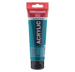 Amsterdam Acrylverf 675 Phtalogroen 120ml