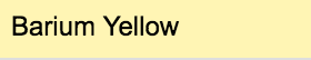 Stylefile Marker 152 Barium Yellow