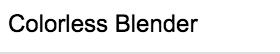 Stylefile Marker 000 Colorless Blender