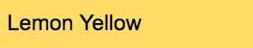 Stylefile Marker 164 Lemon Yellow