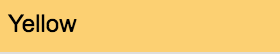 Stylefile Marker 158 Yellow