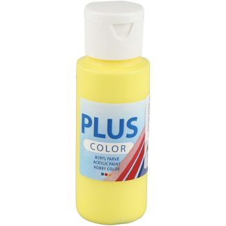 Plus Color Acrylverf Primary Yellow 60 ml