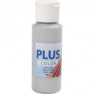 Plus Color Acrylverf Silver 60 ml