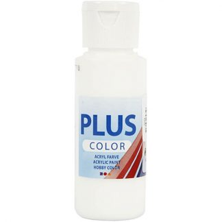 Plus Color Acrylverf White 60 ml