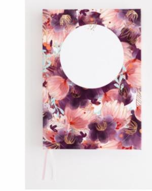 Bullet Journal Romantic Flower