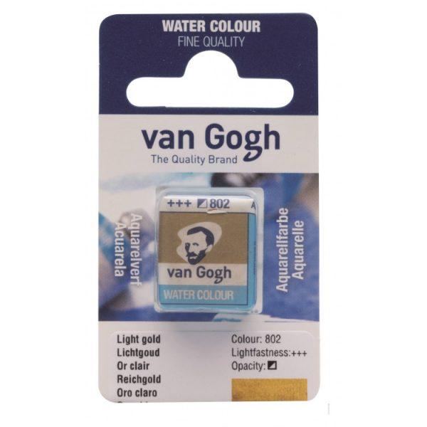 Van Gogh aquarelverf napje 802 Lichtgoud