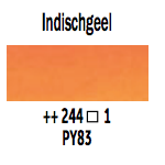 Van Gogh aquarelverf napje 244 Indischgeel