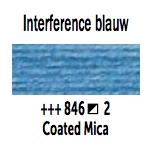 Van Gogh aquarelverf napje 846 Interference Blauw