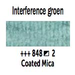 Van Gogh aquarelverf napje 848 Interference Groen