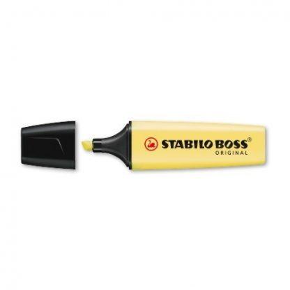Stabilo Boss Pastel Geel 70/144