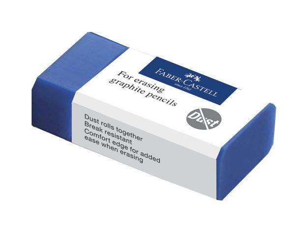 Gum Faber-Castell stofvrij blauw