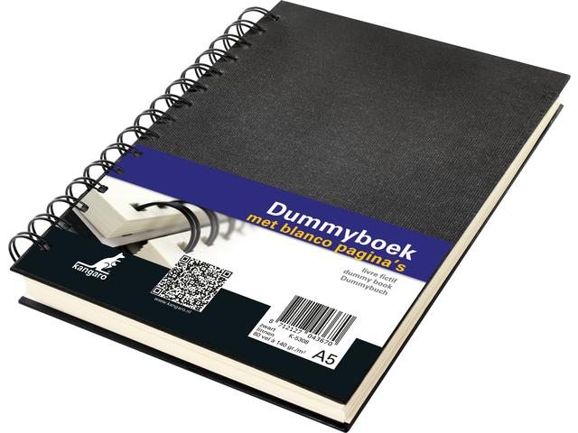 Dummyboek Kangaro A5 blanco 80 vel