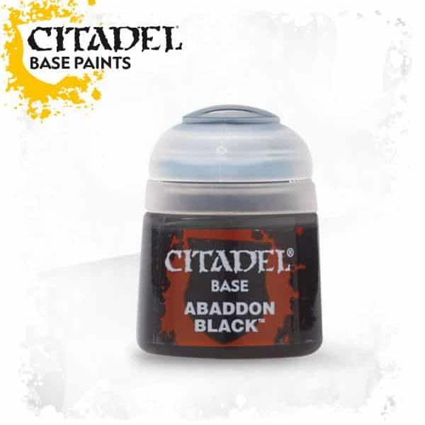 Citadel Base Abbadon Black 12 ml