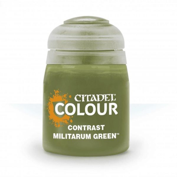 Citadel Contrast Militarum Green 18 ml