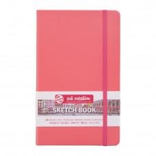 Schetsboek 13×21 Coral Red