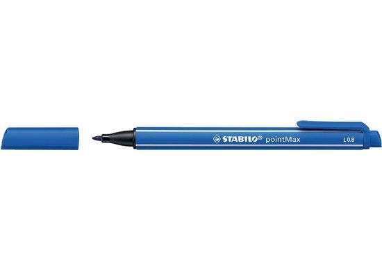 Viltstift Stabilo pointmax 488/32 ultramarijn